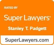 Rated By Super Lawyers Stanley T. Padgett superlawyers.com